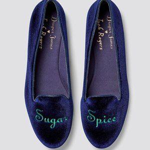 NWOT Jack rogers Draper James Sugar Spice Loafers